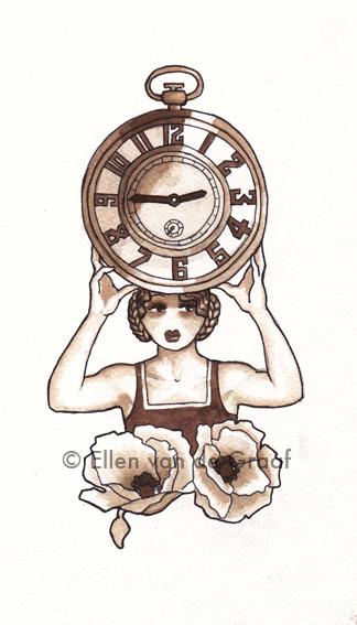 Stopwatch girl